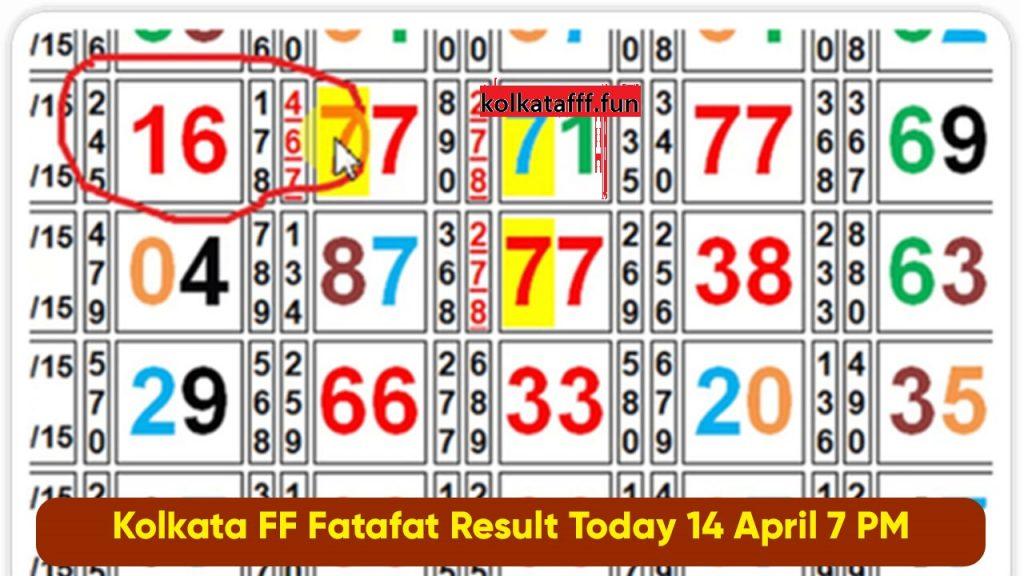 KOLKATA FATAFAT - Kolkata FF - Kolkata FF Results